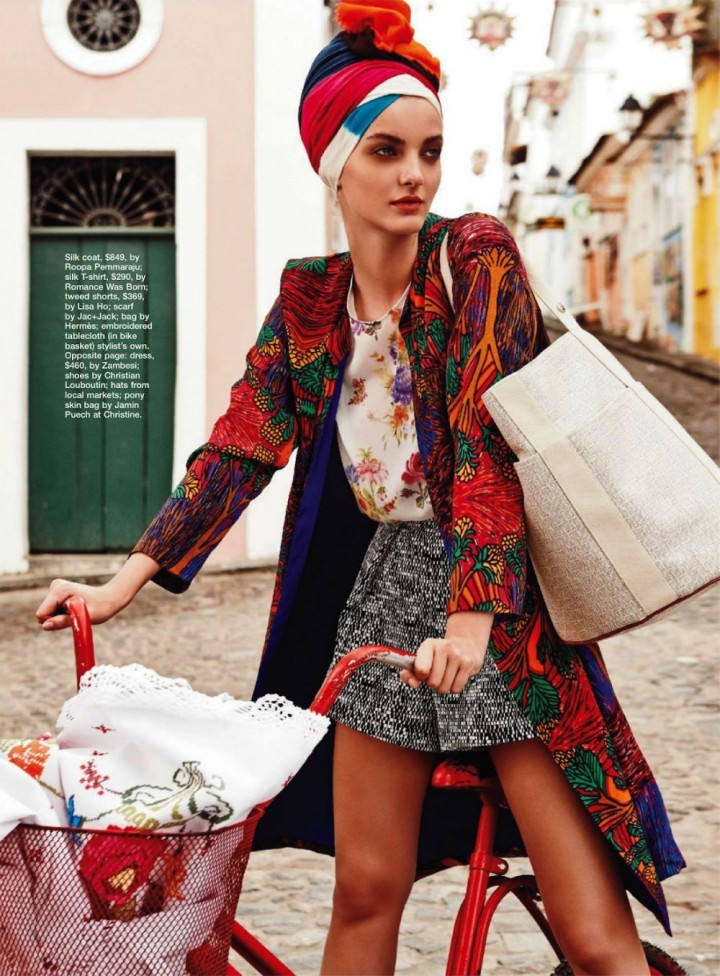 factoryoffur:  Denisa Dvorakova by Nicole Bentley for Marie Claire Australia April 2013