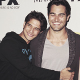 "hoechlined:  Posey: ""Tyler Hoechlin, you are awesome. But Derek. Derek is a butthole."""