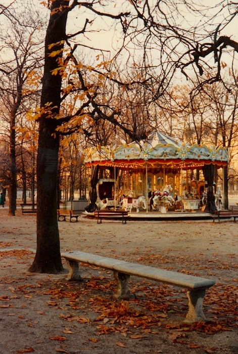 Carousel, Paris, France photo via ana