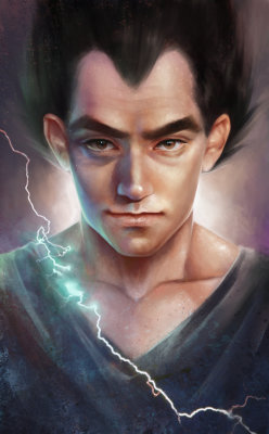 Dragonball Z: Vegeta. Realism. by *Shilesque —-x—- More: | Cartoons | Random |