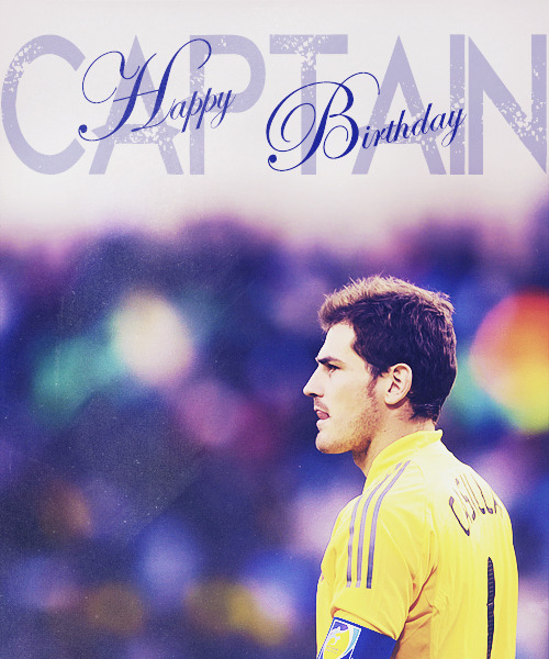 HAPPY BIRTHDAY IKER!