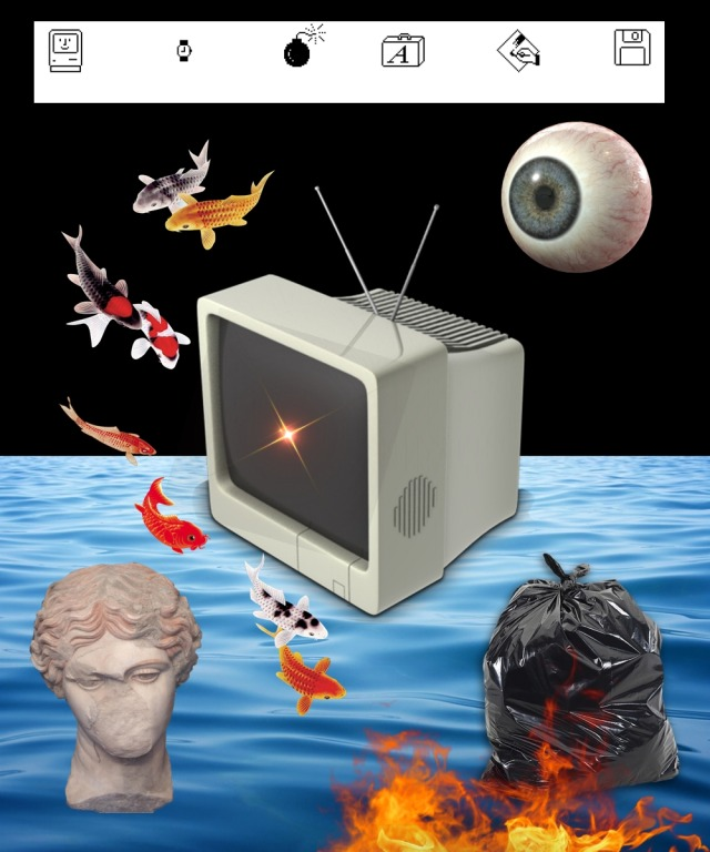 serie: antagonía 2020 #trash#collage#collagedigital#surrealism#surrealistart#technology#obsolete#arteconceptual#artevisual#punk#postpunk