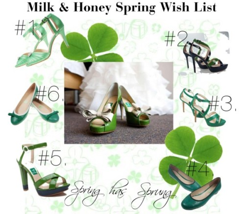 Milk and honey Spring/March shoes by halfmooncoffee featuring chunky heel pumpsShoes / Chunky heel pumps / Shoes