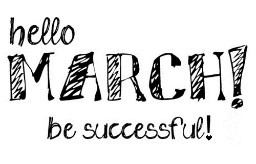 tokelo:  #JustSaying #MarchMadness #NewMonth #NewBeginnings