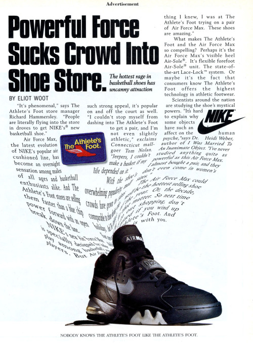 Nike Air Force Max Ad