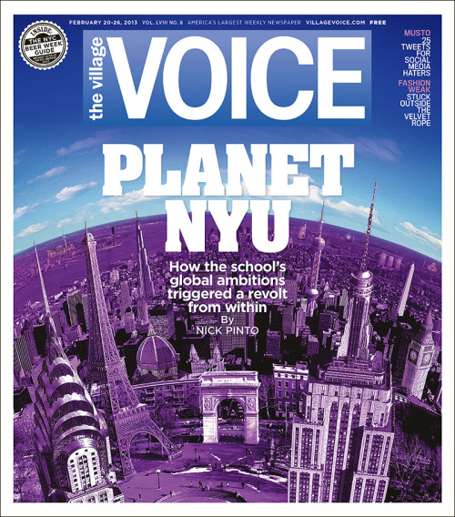 This week's cover: Planet NYU. As Growth Shifts Into Overdrive, NYU Faces a Rebellion From Within.