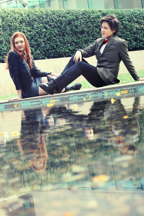 Amy and the DoctorAmy Pond/Breathlessness. Photo/J
