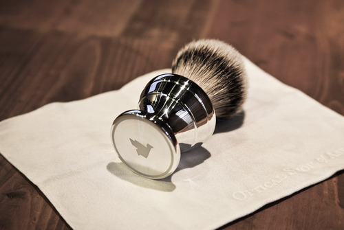 antwaune gray,Owen & Stock Badger Brush,thelifestyleelite.com