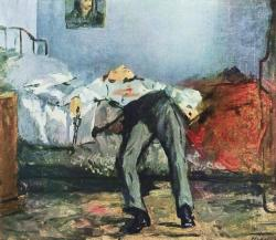 1910-again:  Edouard Manet, The Suicide 1881