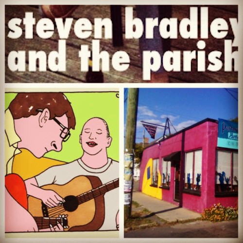 Playing drums tonight in #EastNashville w/ @stevelefeev & the Parishioners. @morehazards is also playing! Doors at 8pm (at East Nashville Arts Co-op)