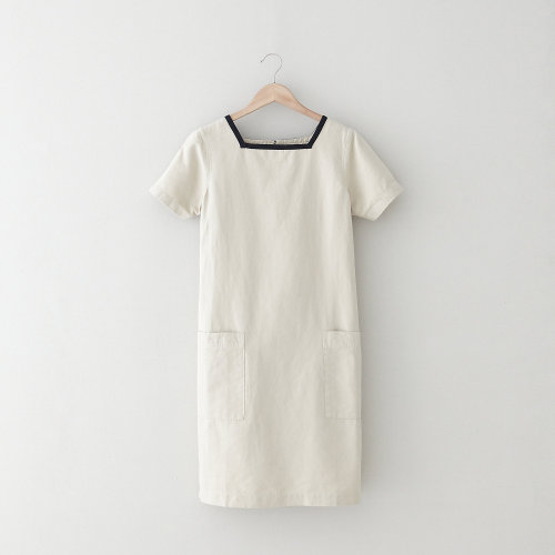 Naval Dress. MHL by Margaret Howell. Linen and cotton blend. $378.
