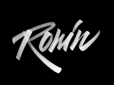 type-lovers:  Ronin by Sergey Shapiro