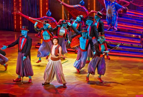 Scene from Disney's Aladdin – A Musical Spectacular at Disney California Adventure