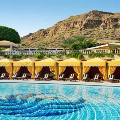 The Phoenician Resort #scottsdale #arizona #whitesandsswim #vacation #spa #resort