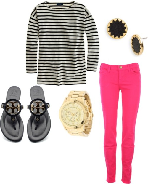 stripes by sarahrh4 featuring military jewelry