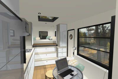 Custom Truck RV: Modern Motorhome Living or a Tiny House?I usually show you tiny houses on wheels but today I'm showing you a modern truck RV/motorhome by M…View Post