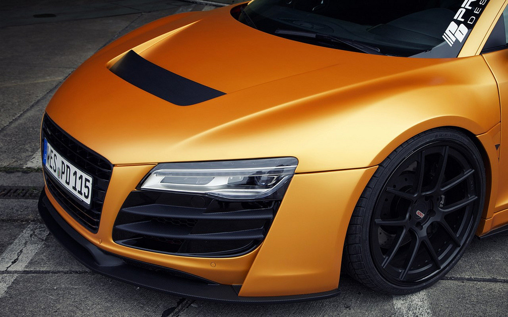 crash—test:  PRIOR-DESIGN Audi R8 PD GT650 (by Revistadelmotor)