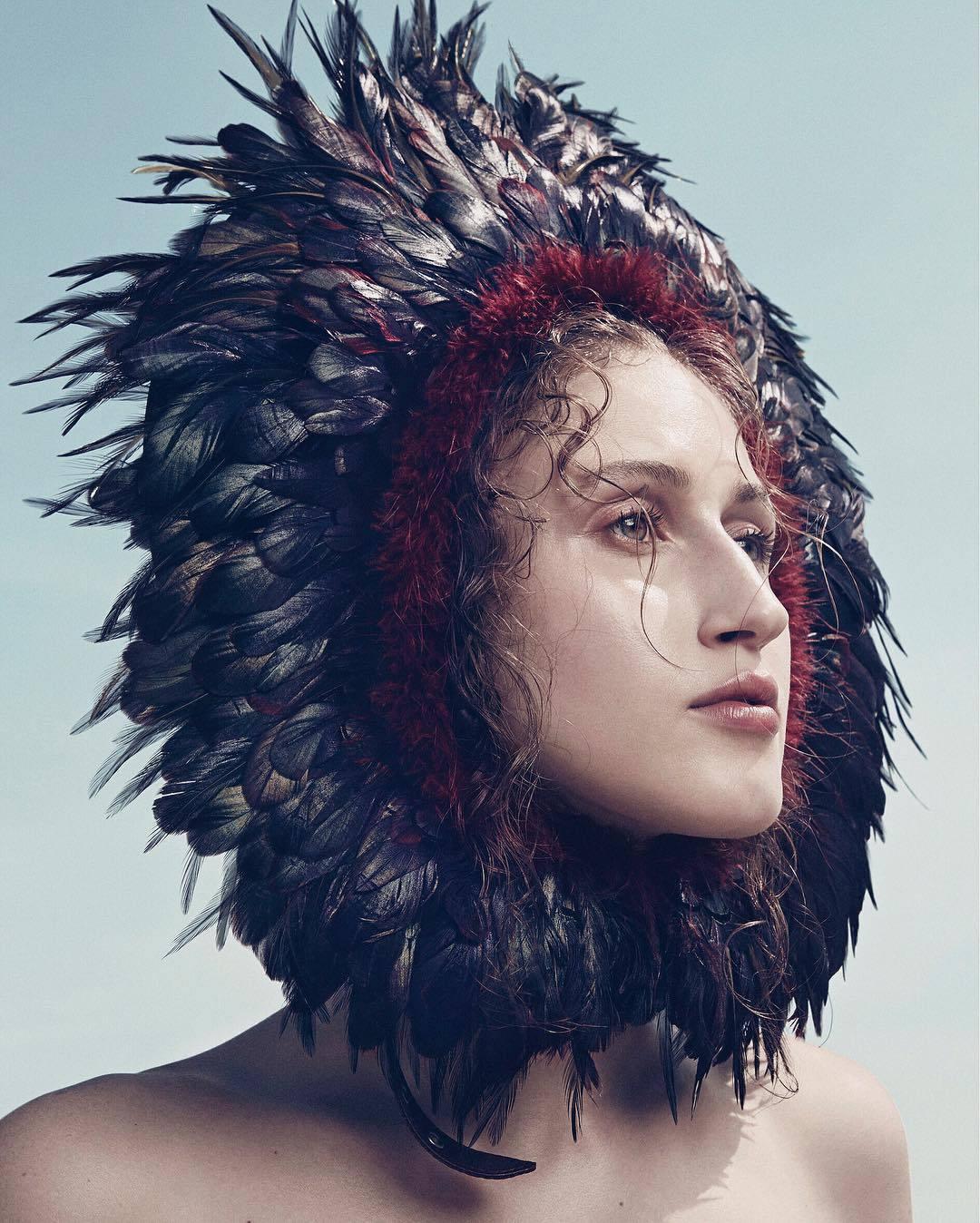 Anna Cleveland - Vogue Brazil January 2017