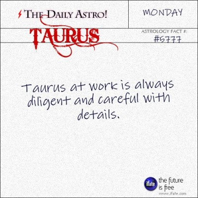 Taurus 5777: Visit The Daily Astro for more Taurus facts.