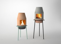 Mini Faro Fireplace