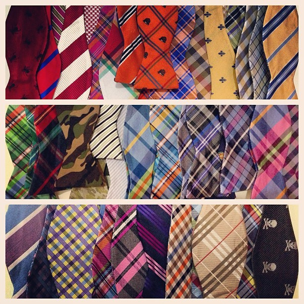 …and that makes 50 #bowties! 😍👉🎀👈 #bowtie