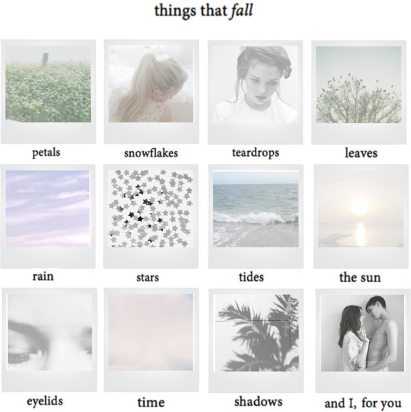 alwaysbesummer:  things that fall by asdfghjennyx ❤ liked on PolyvorePolaroids image by misssnowwhite on Photobucket / Blue Pony / grey-haven: i-ndio: El cielo hermoso … / it comes naturally / Cast out of the night, you've got a foolish heart / Blue Pony / Tumblr / freckles / Kooks / photo / ♡ ρояcєllαїиє ♡ / cumfuzion: umnope: this is my favorite picture… / Blank Polaroid Frame image / Silver Star Confetti