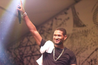 Still not over seeing Usher.