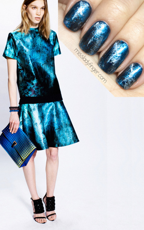 missladyfinger:  MANICURE MUSE: Proenza Schouler Pre-Fall '13 Proenza Pre-Fall perfection, plus the Ladyfinger… here.