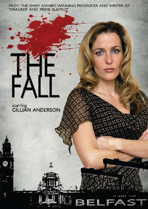 Gillian is back on TV!!! NEEP! The Fall (_T_)