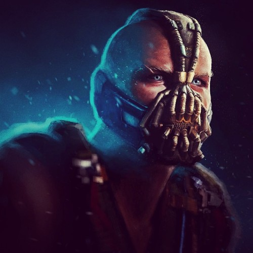 roc4yourlife:  #bane #the #dark #knight #rises