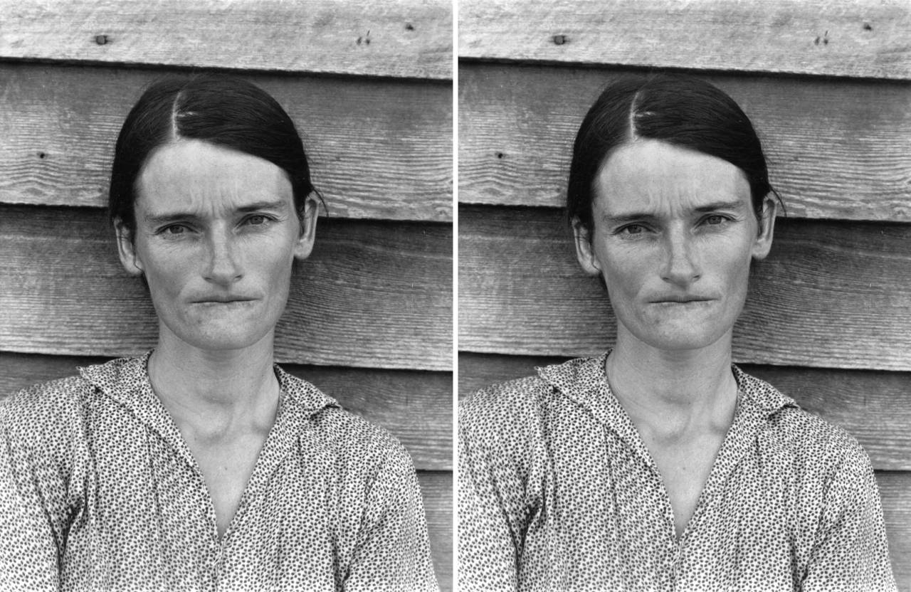 Allie Mae Burroughs, Hale County, Alabama, Walker Evans & After Walker Evans, Sherrie Levine