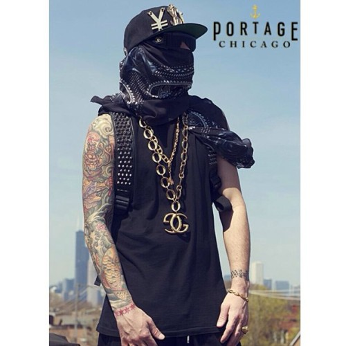 Urban Nomad #vintage #gucci #chanel #givenchy @endswealthcorp #tattoos #black #gold