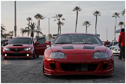 "That is one happy looking supra, its like "":D HELLO!"""