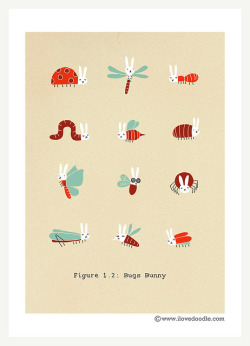 magicfran:  Bugs Bunny by ILoveDoodle on Flickr.