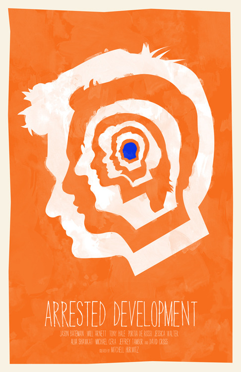 fuckyeahmovieposters:  Arrested Development by William Henry