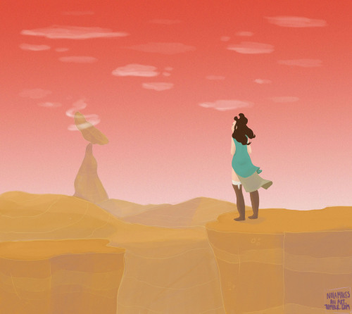 the beginning of a series called Wanderers I love some dystopian earth desert and some neo-nomads!