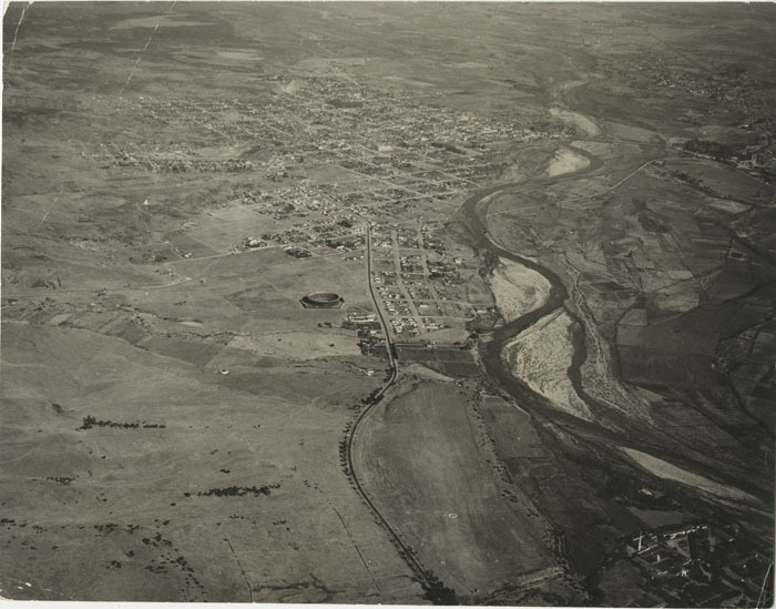 [Aerial view of Tijuana], circa 1943