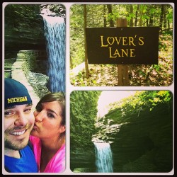 Hiking Watkins Glen State Reserve.😍😍😍 #vacationwithmrman #waterfalls #soinlove