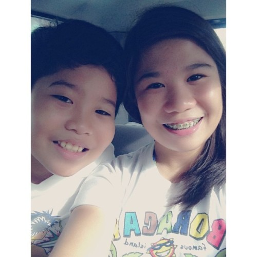 Off to Sitio Lucia! 🏊 #brother #birthday #latecelebration #swimming #bonding