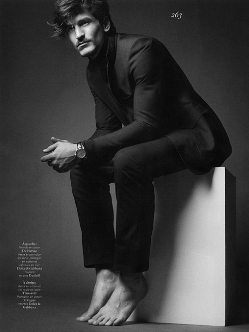 fordmodels:  Jarrod Scott for Vogue Homme International S/S 2013
