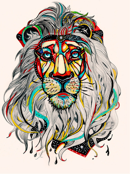 Leo by Felicia Atanasiu on Society 6