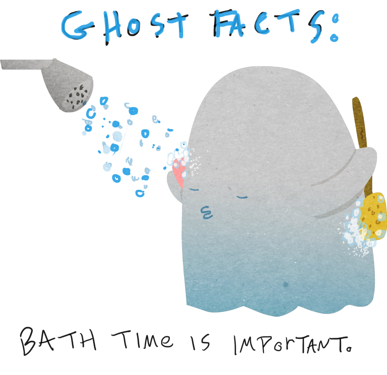 More important facts about ghosts. Who knew there was so much to learn?