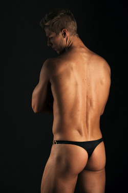 manthongsnstrings:  Classic black t-back