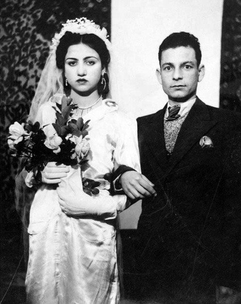 sisterwolf:  Iranian wedding, 1940s