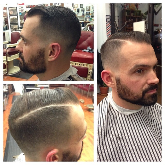 The gallery for --> Old School Barber Haircuts