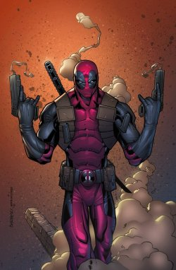Deadpool by *erickarciniega —-x—- More: | Marvel | Random |