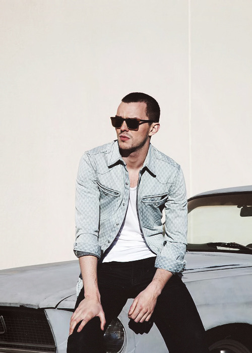 bluemethy:    Nicholas Hoult photographed by Thomas Giddings for Flaunt Magazine