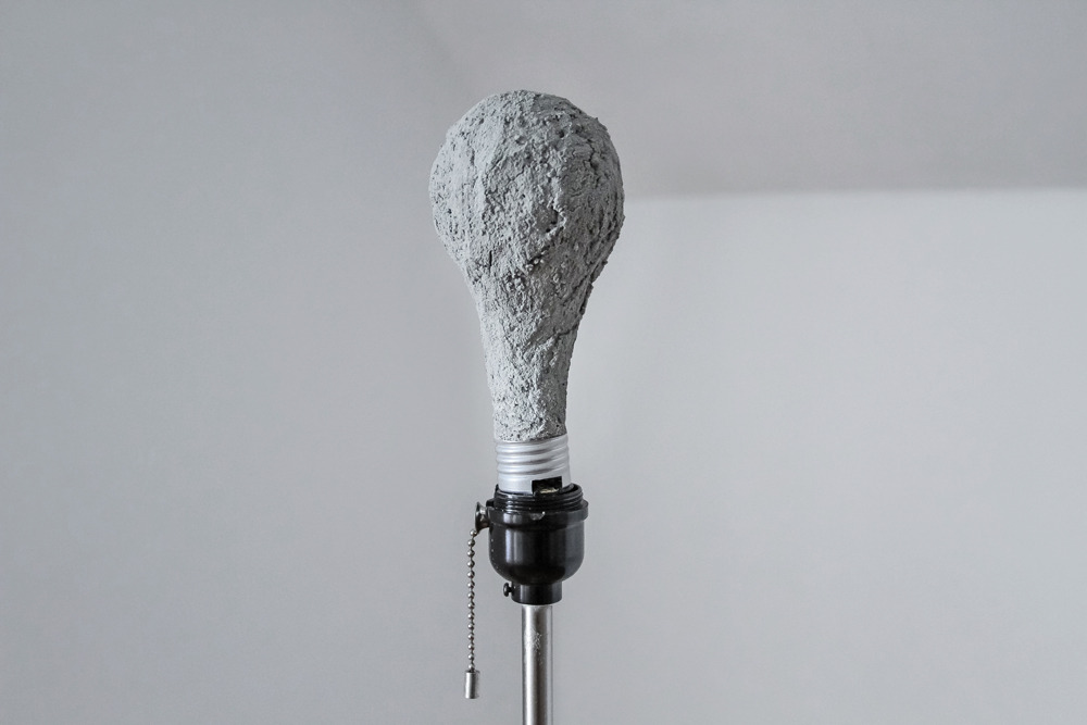 thejogging:  no idea, 2013 concrete light bulb •••