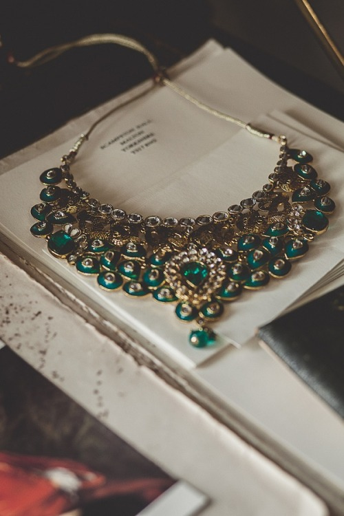 beautifulindianbrides:  Photo by:Upendo Images Necklace by:JG Jewellry