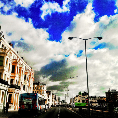 Kingsway, Hove - 2 February 2013 on Flickr.Every day I use my iPhone to take photos.   #instagram #hove